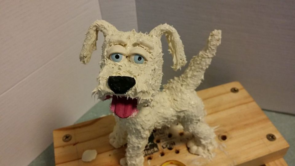New Silicone Dog Puppet