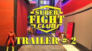 Super Hero Fight Club - Stop Motion Preview-