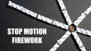 STOP MOTION FIREWORK