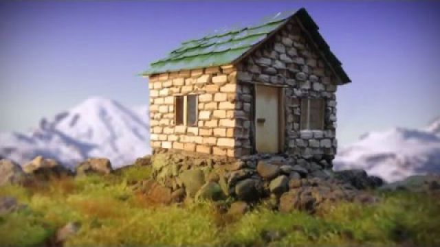 Building a House (Stop motion)