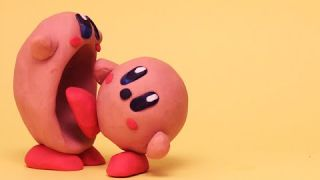WHAT IF KIRBY ATE ANOTHER KIRBY? Stop Motion Short Clip