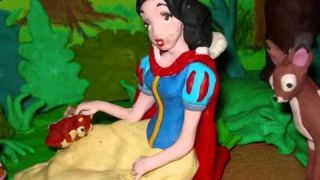 Disney Princess Snow White Claymation