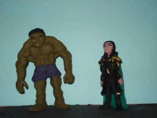 Hulk and Loki