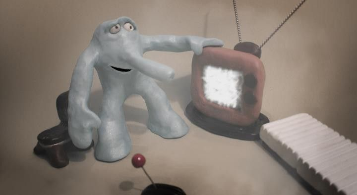 BlueAlien2_MadroneCandea_2014_Claymation