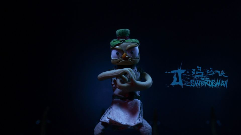 Stop-motion Animation J-Swordsman (3)