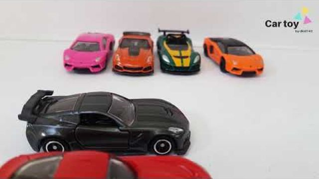 Stop motion | Car toy | Race