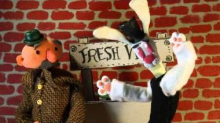 The Vanishing Veg Trick! Stopmotion