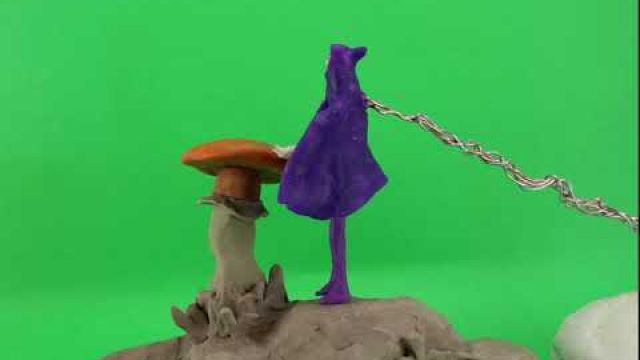Raw stop motion animation ( Lisa and the mushroom)