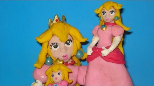 Princess Peach CLAY animation