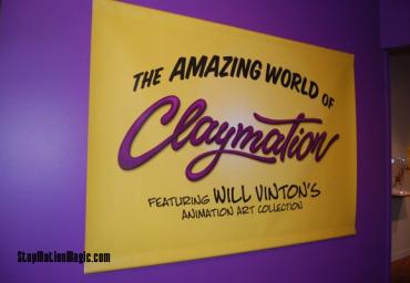 Amazing World of Claymation Exhibit
